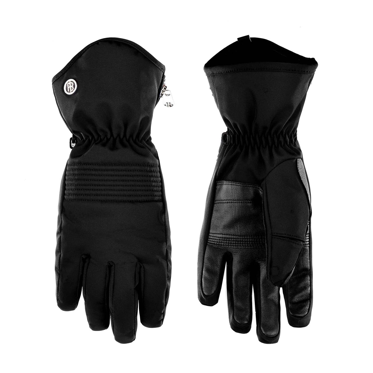 Poivre Blanc Stretch Ski Glove Black 2020