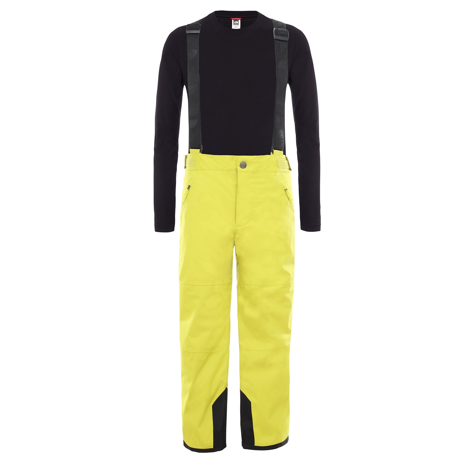 North Face SnowQuest Suspender Plus Pant Citron 2020