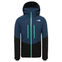 North Face Chakal Jacket Blue Wing Teal/TNF Black 2020