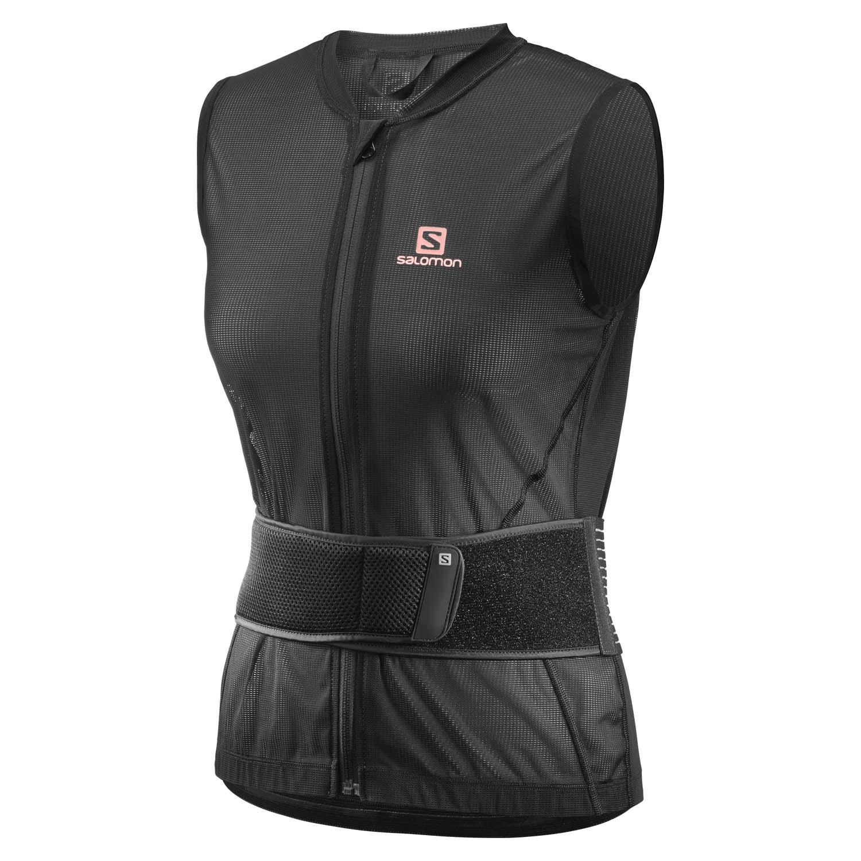 Salomon Flexcell Light Vest W Back Protector Black 2020