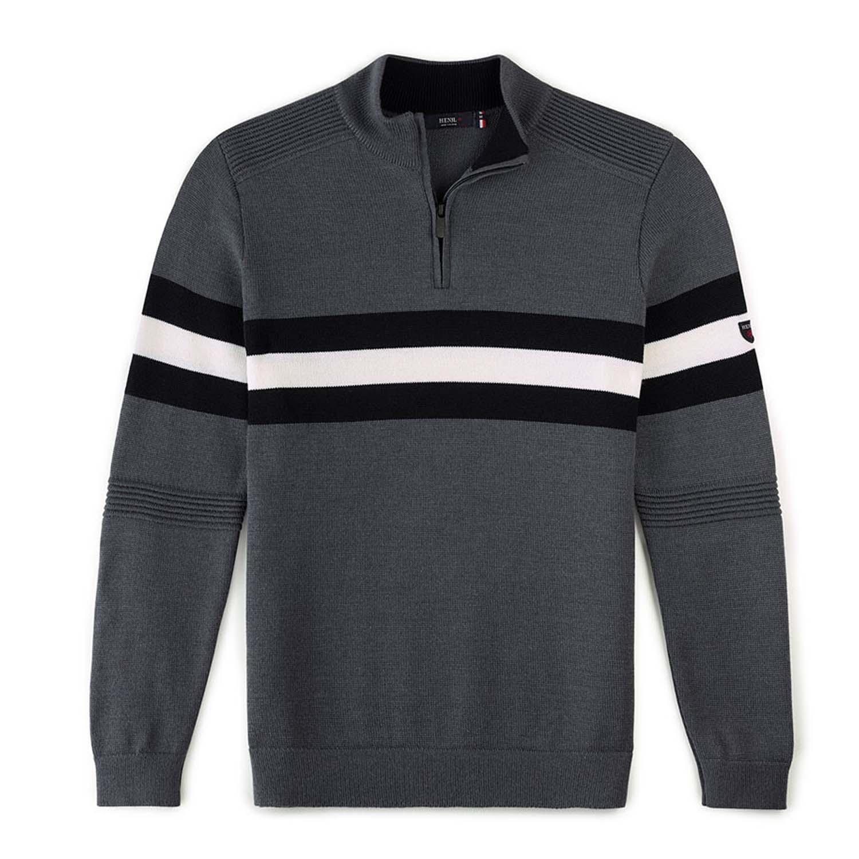 Henjl Sledge Half Zip Sweater Grey 2020