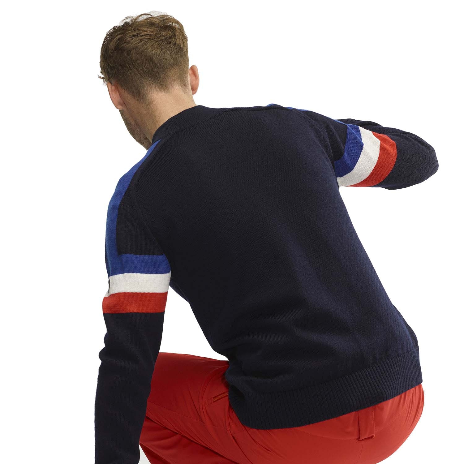 Henjl Patrol Half Zip Sweater Navy 2020