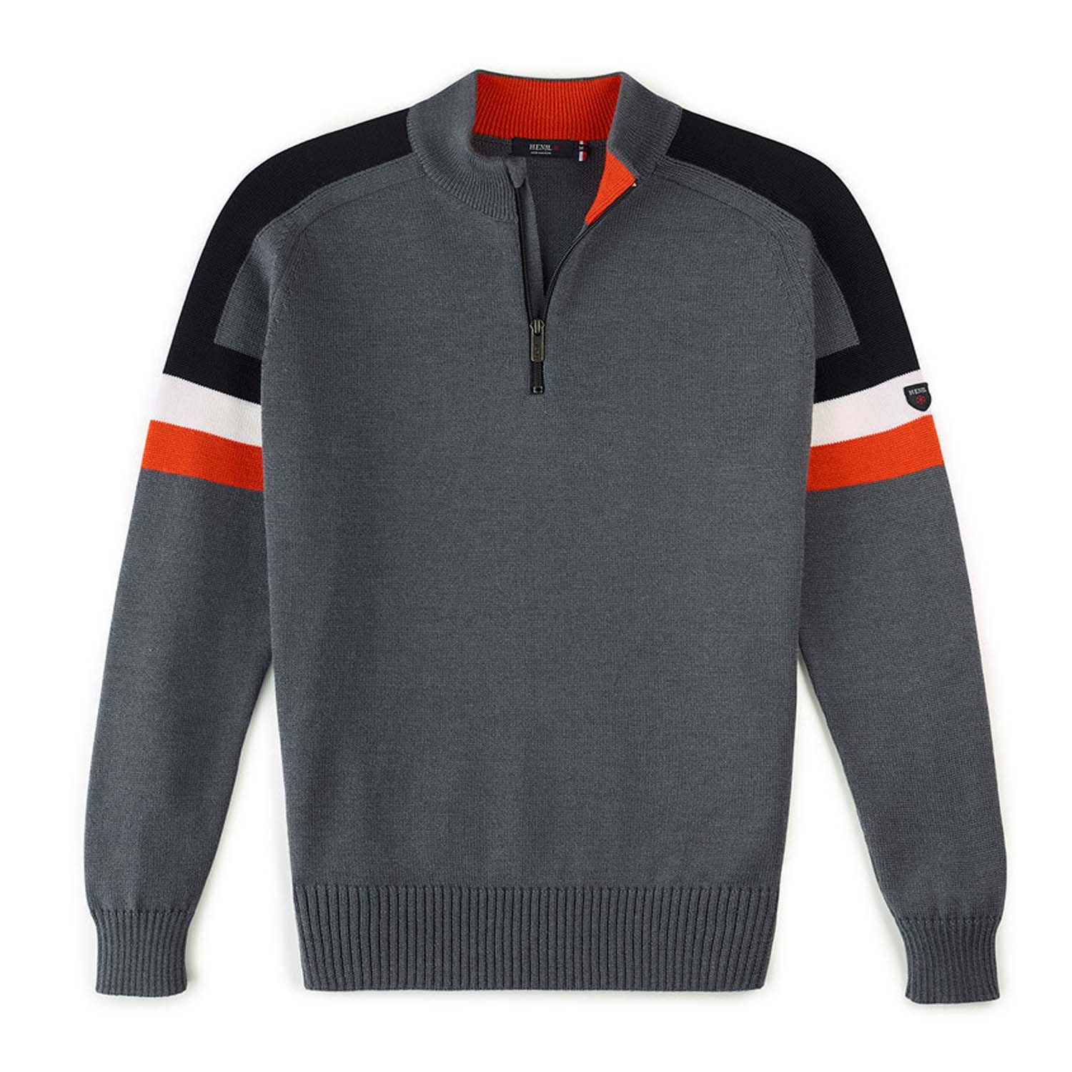 Henjl Patrol Half Zip Sweater Grey 2020