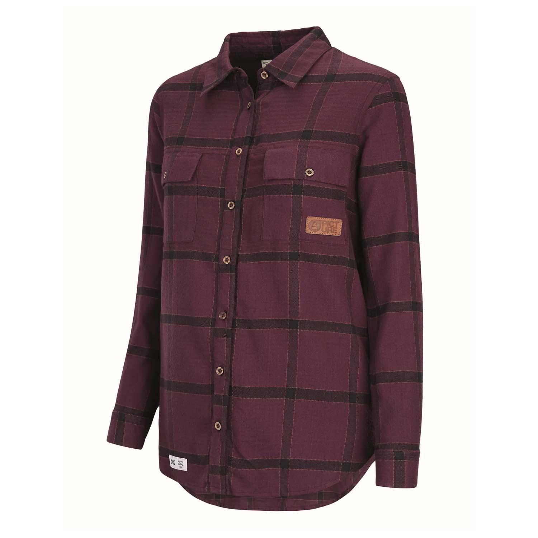 Picture Jade Shirt Burgundy 2020