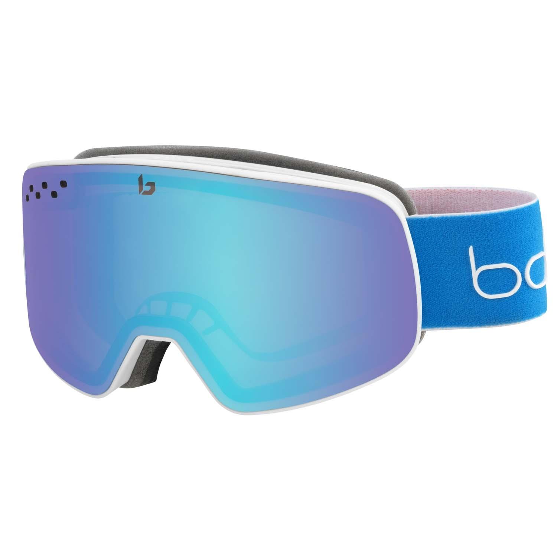 Bolle Nevada Goggle Matte White/Blue Race Aurora 2020