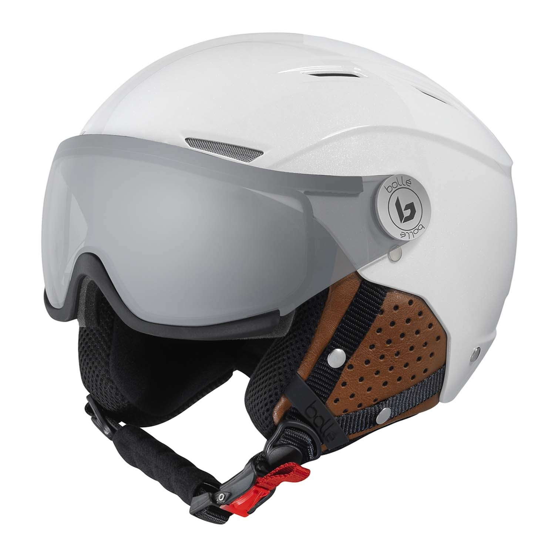 Bolle Backline Visor Premium Helmet Shiny Galaxy White Cognac/Photochromic Silver Lens 2020
