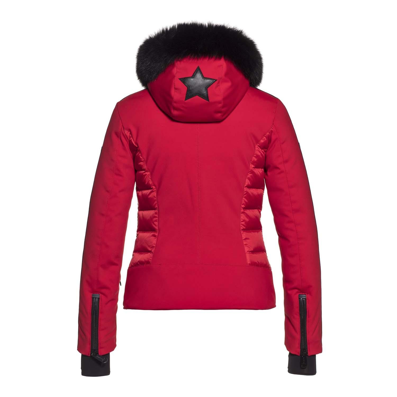 Goldbergh Kaja Jacket Faux Fur Lava 2020