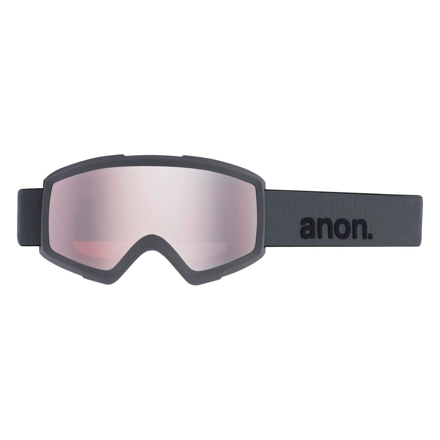 Anon Helix 2 0 Goggle Stealth/Silver Amber 2020