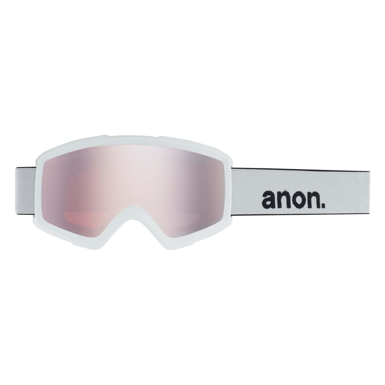 Anon Helix 2 0 Goggle White/Silver Amber 2020