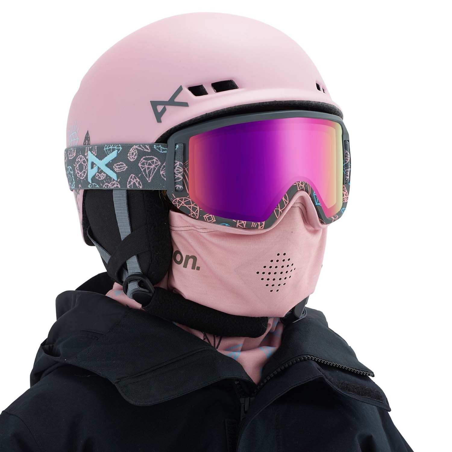 Anon Relapse Junior MFI Goggle Bling/Pink Amber 2020