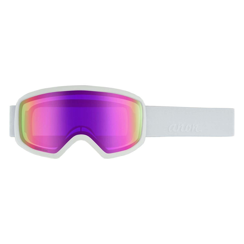 Anon Deringer Goggle White/Sonar Pink 2020
