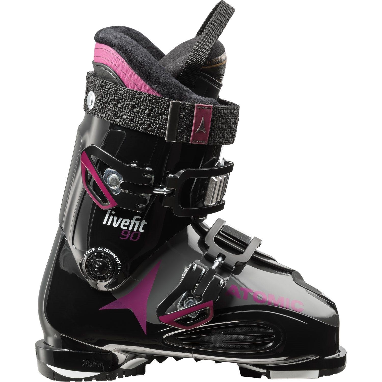 Atomic Live Fit 90 Womens Ski Boot Black / Purple 2018