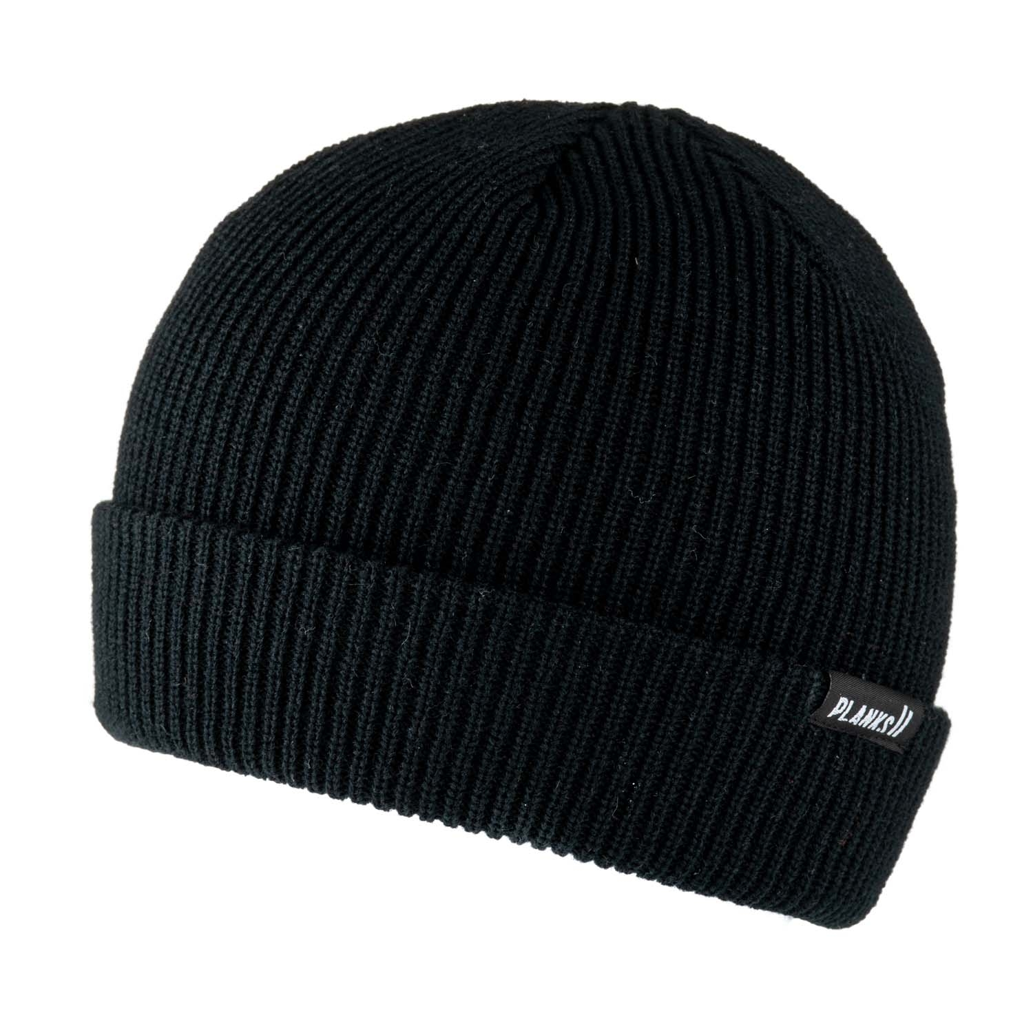 Planks Essentials Beanie Black 2020