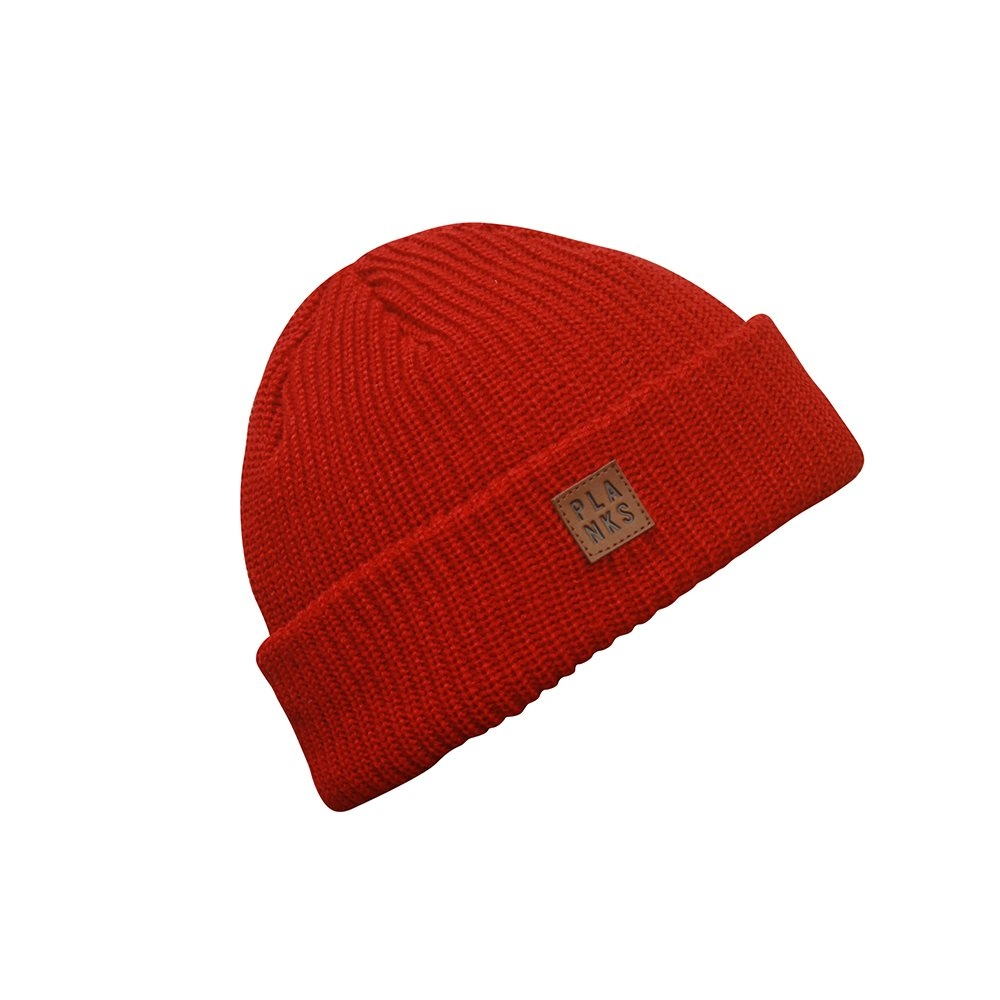 Planks Team Beanie Red 2018