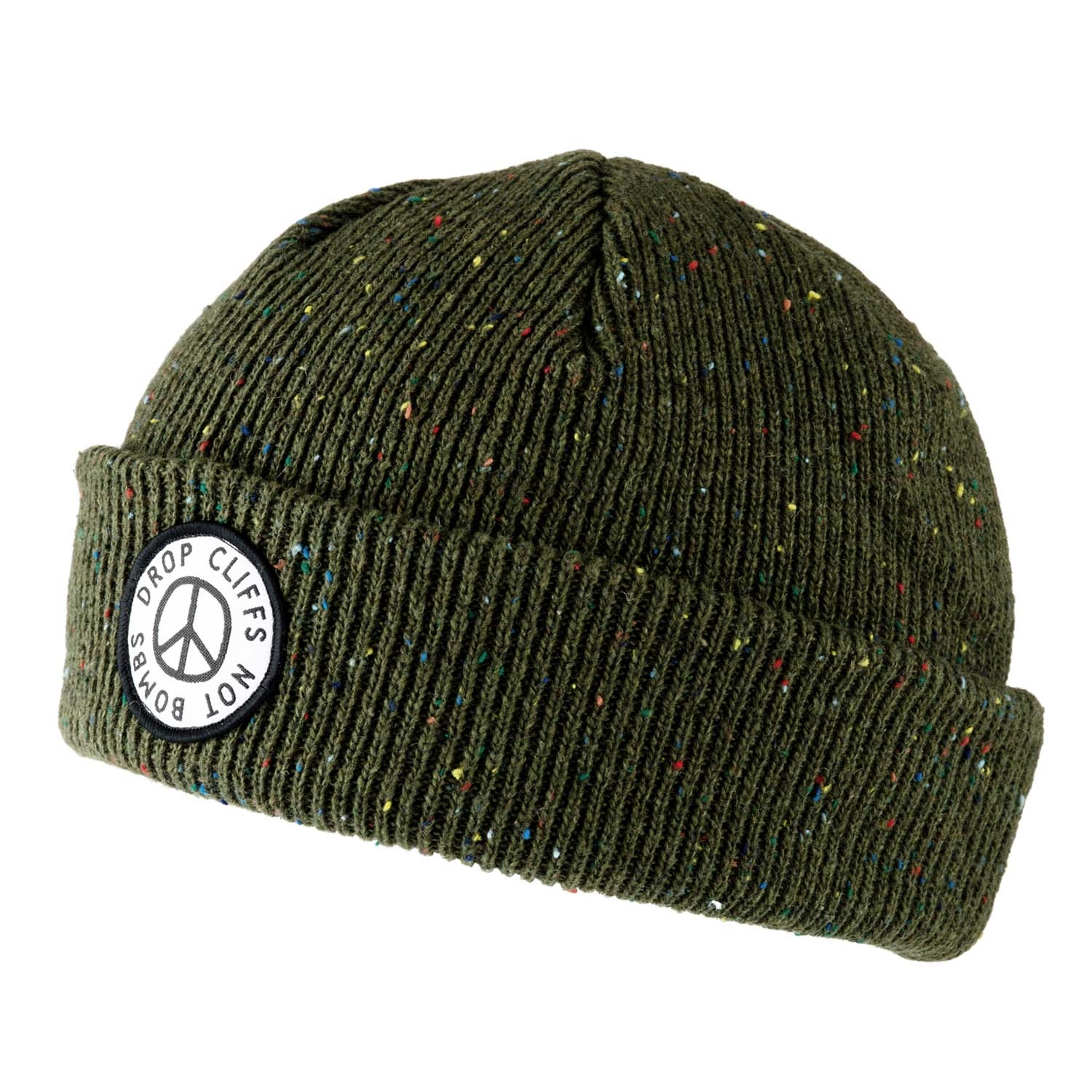 Planks Peace Beanie Army Green 2020