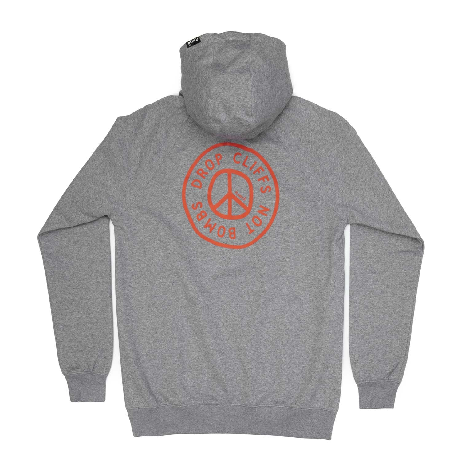 Planks Peace Hoodie Sports Grey 2020