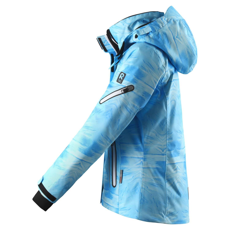 Reima Frost Ski Jacket Icy Blue Print 2020