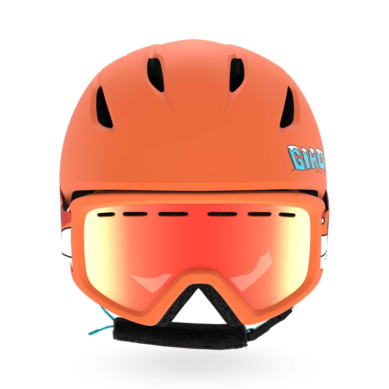 Giro Launch Combo Pack Matte Orange/Dino 2020