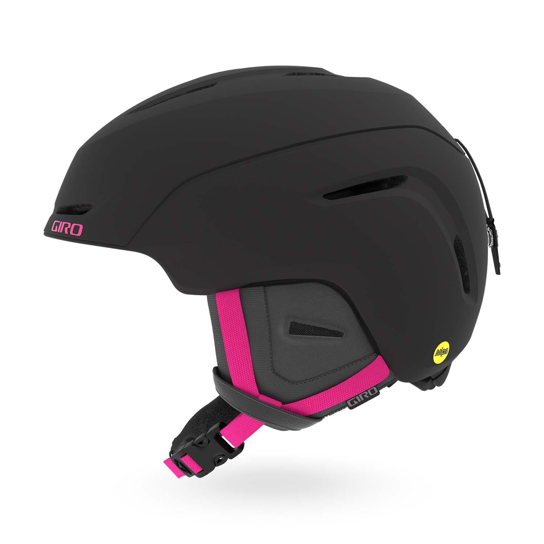 Giro Avera MIPS Matte Black/Bright Pink 2020