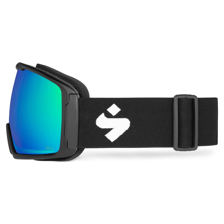 Sweet Clockwork Goggle Matte Black/RIG Emerald 2020