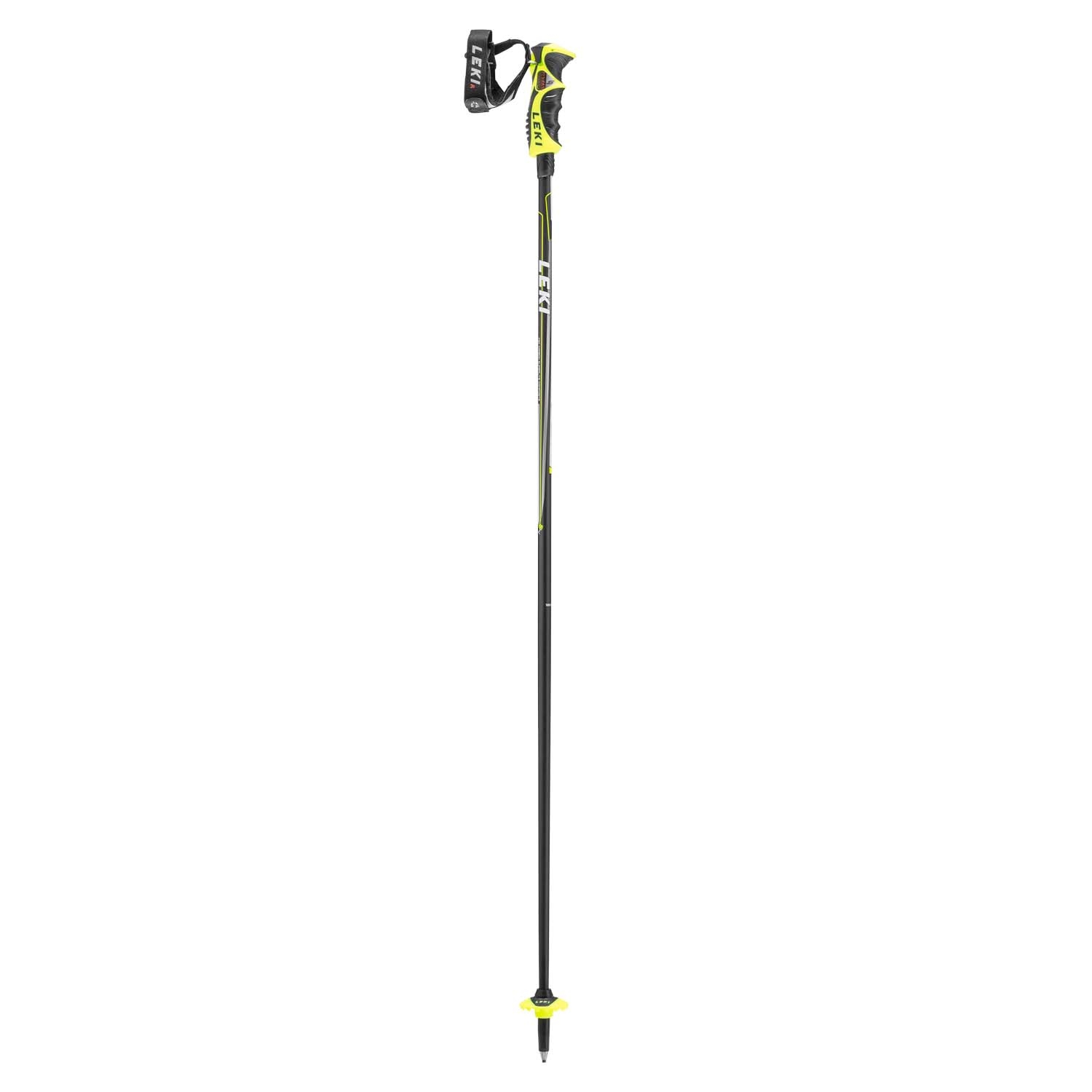 Leki Carbon 14 S Ski Pole Neon Yellow 2020