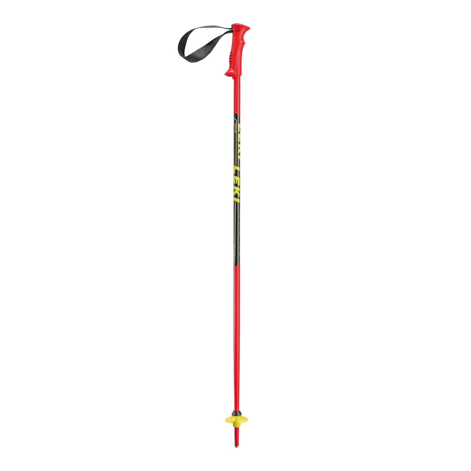 Leki Racing Kids Ski Pole Red 2020