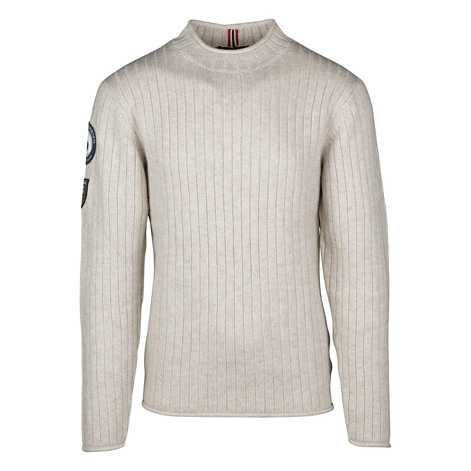 Amundsen Roald Roll Neck Sweater Oatmeal 2020