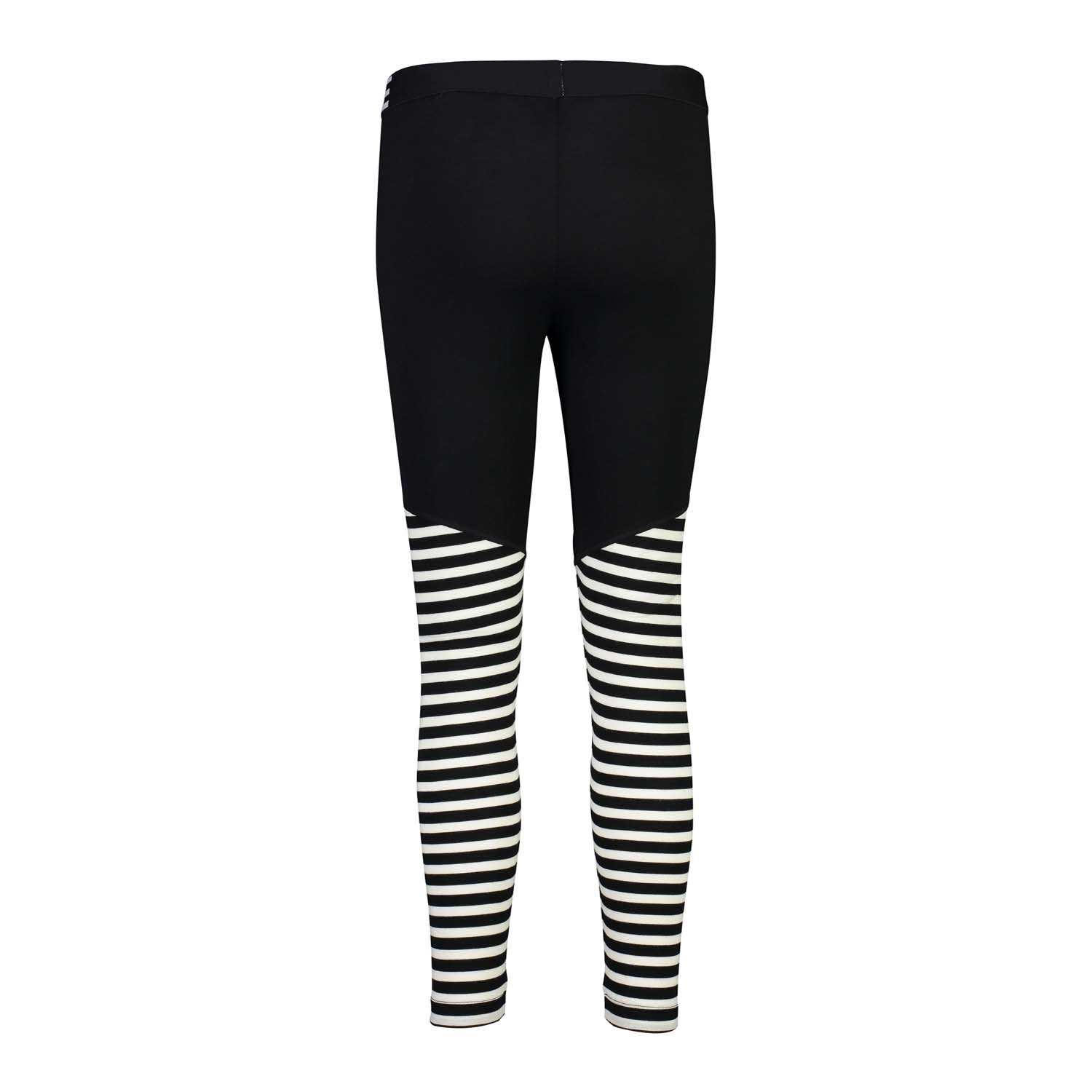 Mons Royale Christy Legging Black/Thick Stripe 2020
