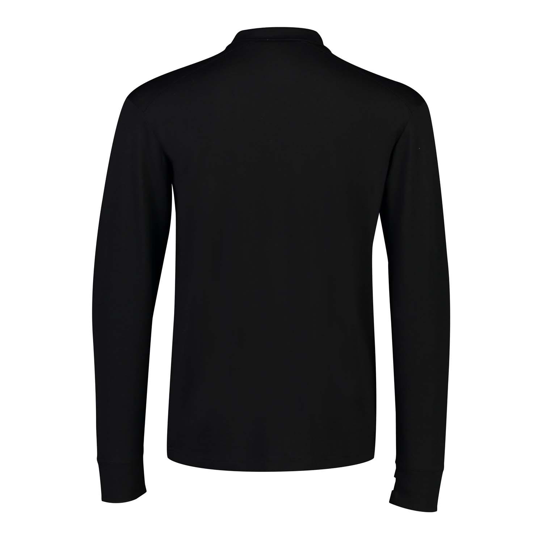 Mons Royale Alta Tech Half Zip Black/Grey Marl 2020