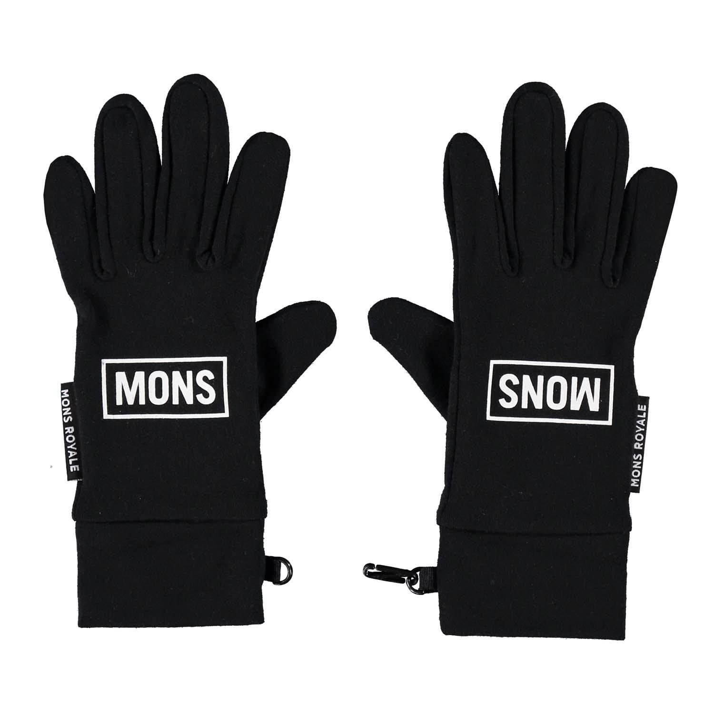 Mons Royale Elevation Gloves Black 2020