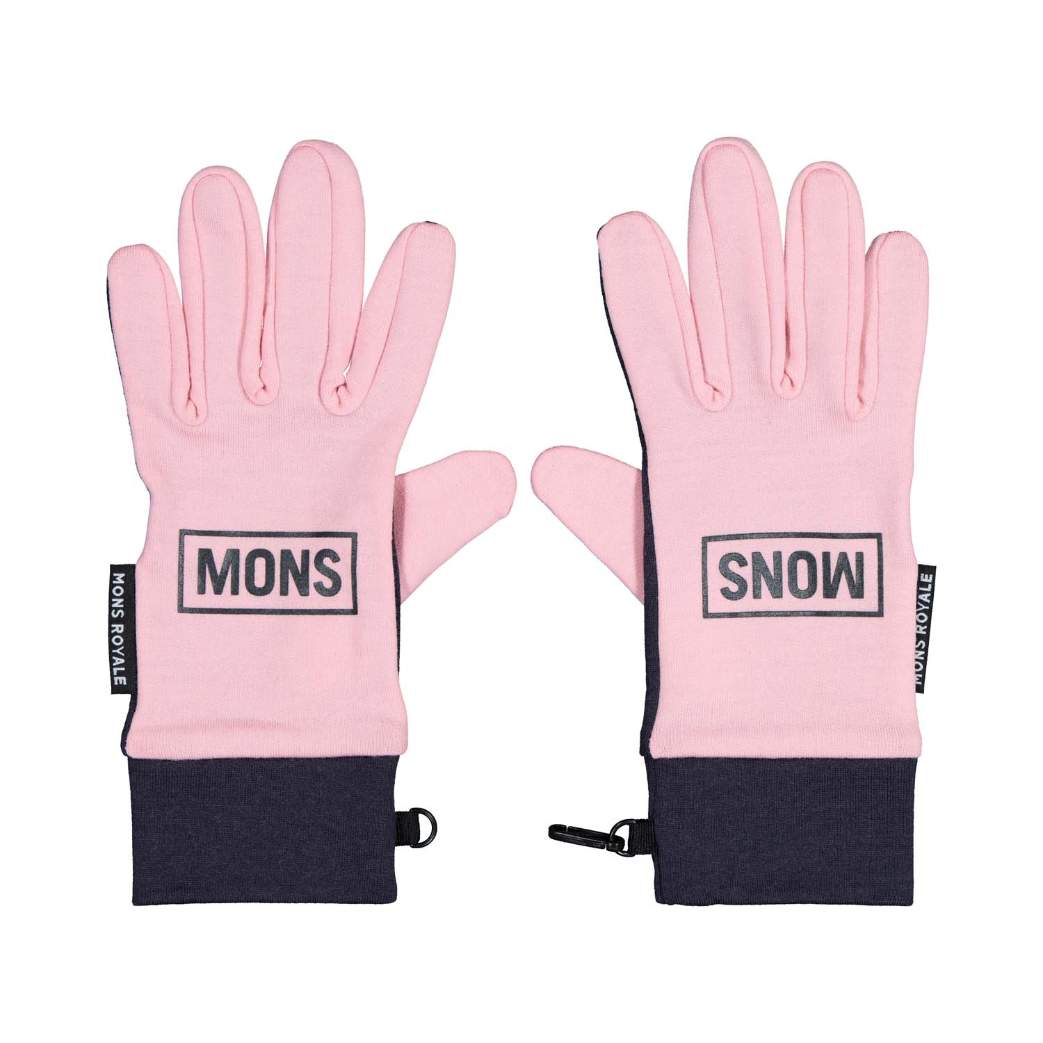 Mons Royale Elevation Gloves Rosewater/9 Iron 2020