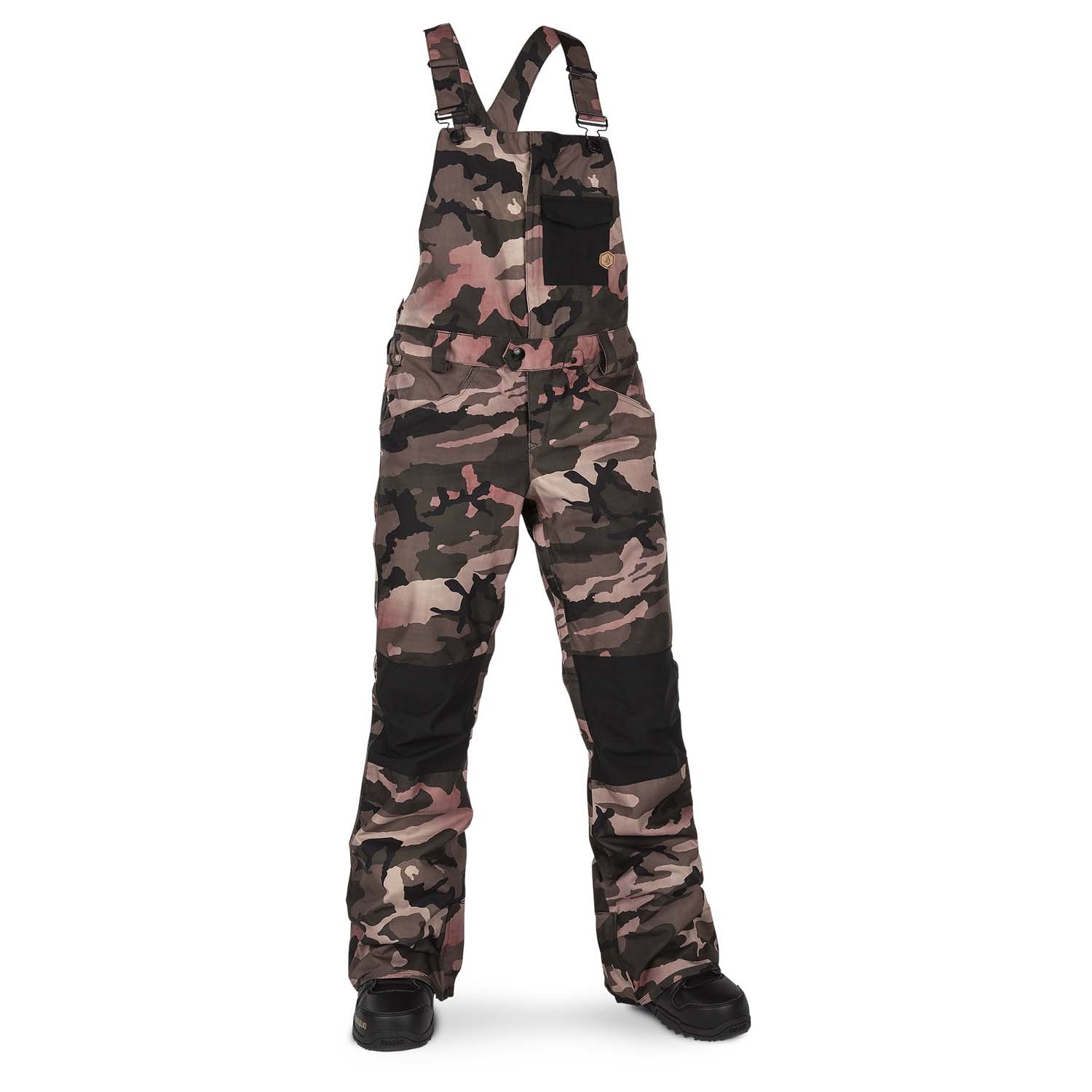 Volcom Swift Bib Overall Pant Faded Army 2020