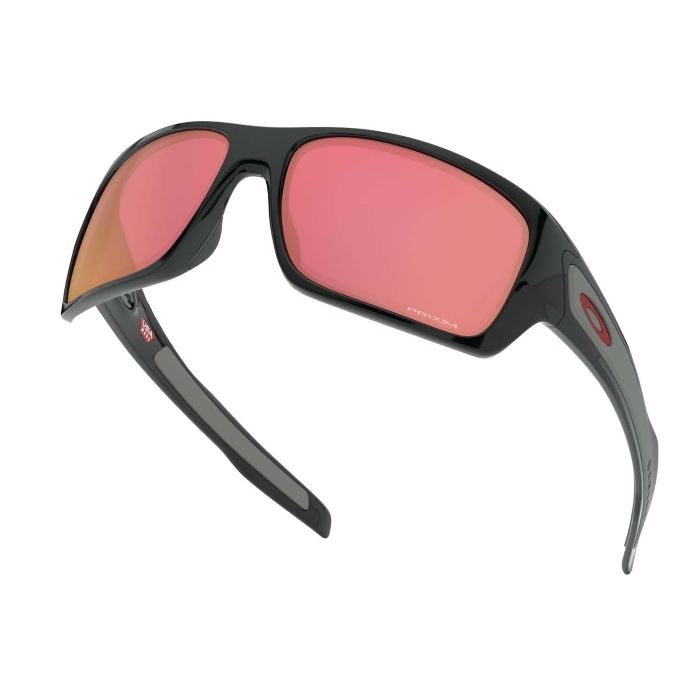 Oakley Turbine Prizm Sunglasses Polished Black/Torch 2020