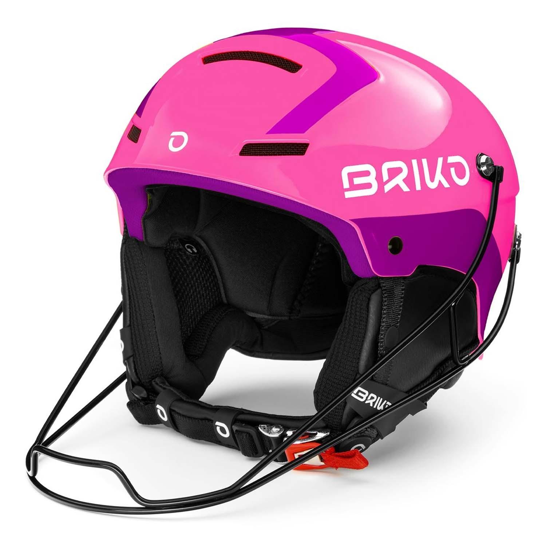 Briko Slalom Helmet Shiny Pink/Violet 2020