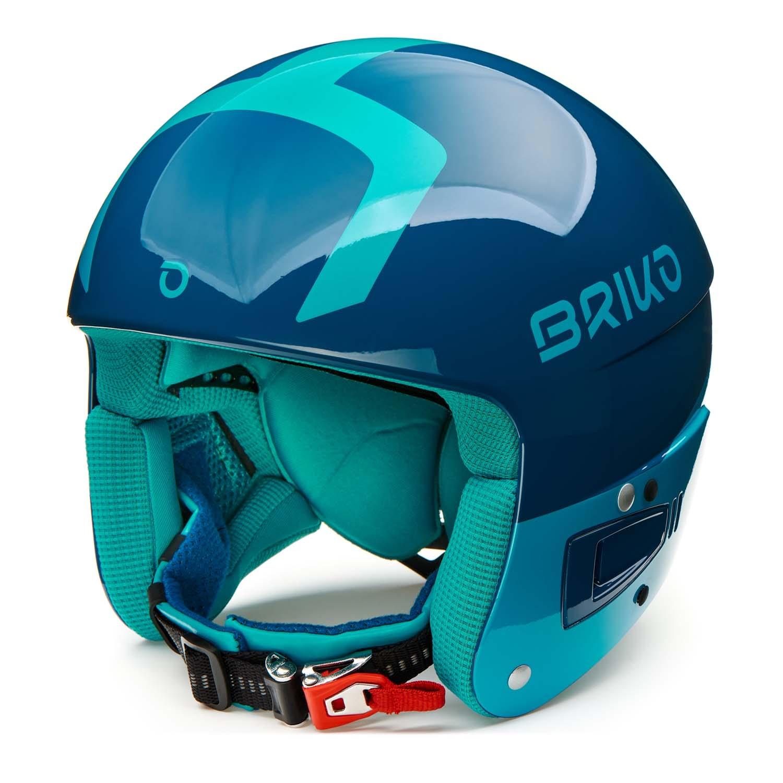 Briko Vulcano FIS 6 8 Junior Helmet Shiny Blue/Light Blue 2020