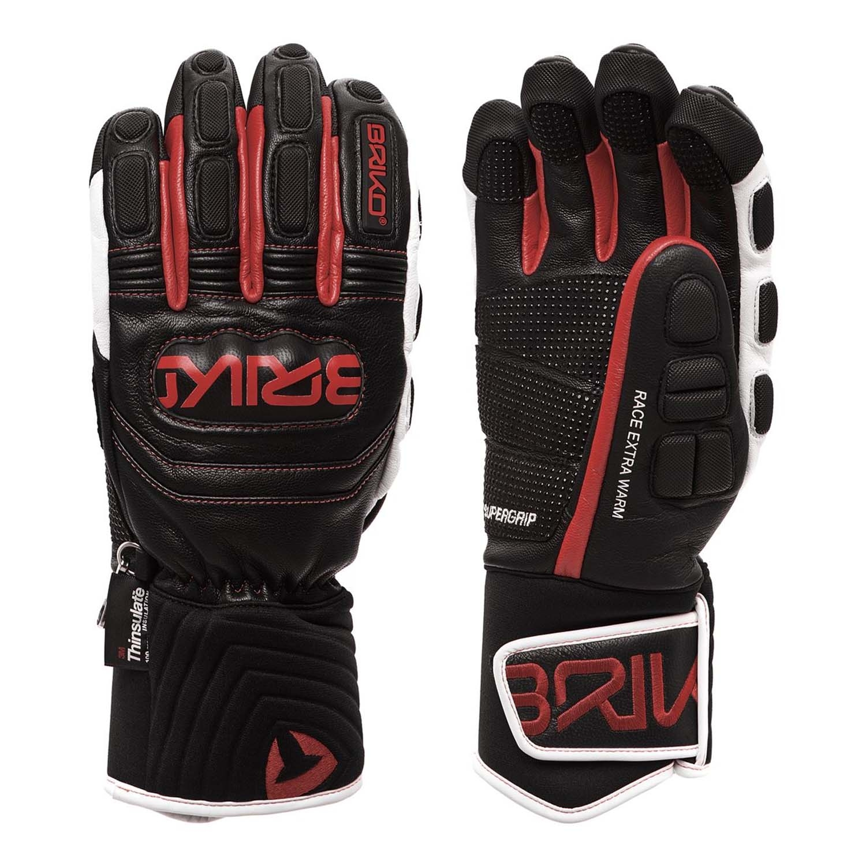 Briko Gara Extra Warm Gloves Black/Red/White 2020