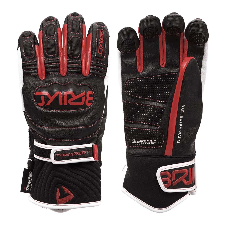 Briko Gara JR Extra Warm Gloves Black/Red/White 2020