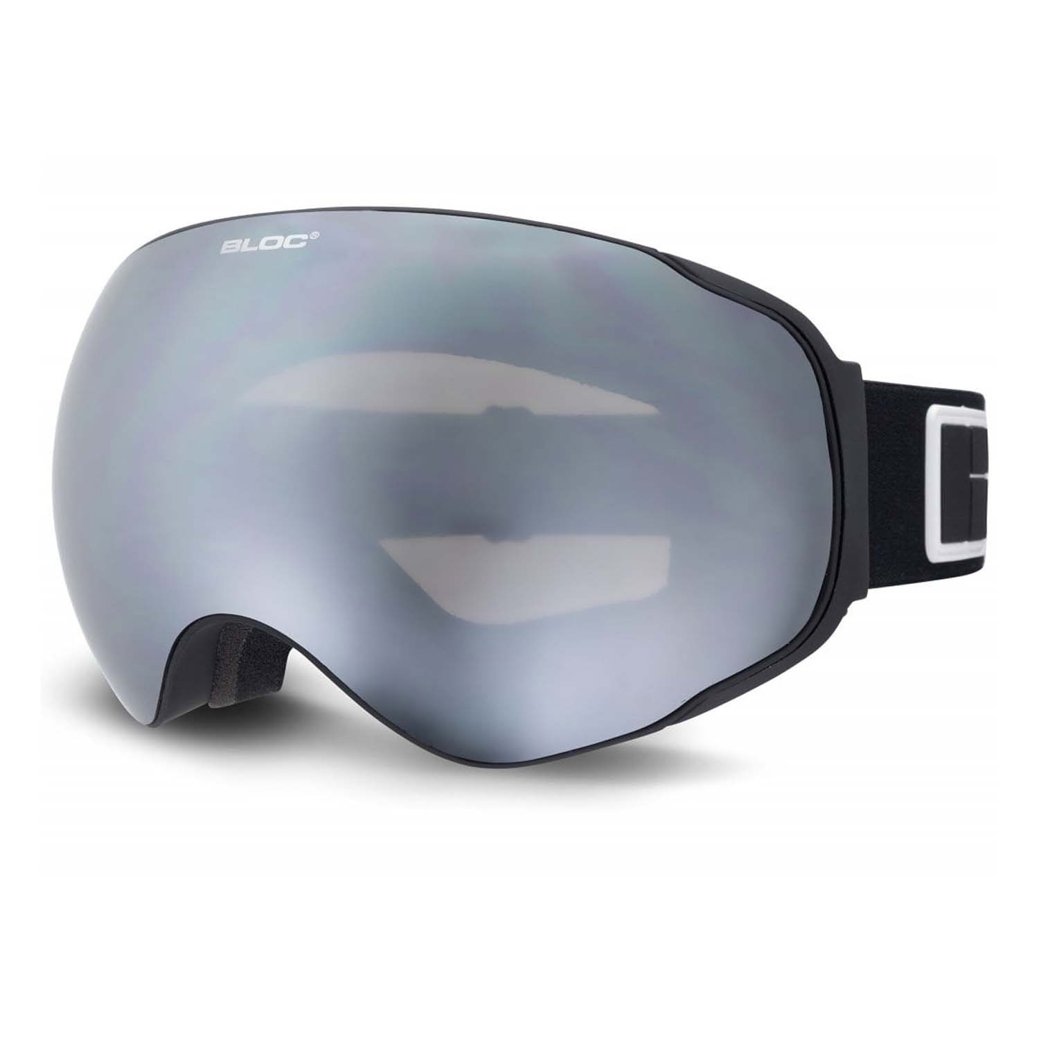 BLOC Evolution E8O17 Goggle Matt Black/Silver Mirror 2020