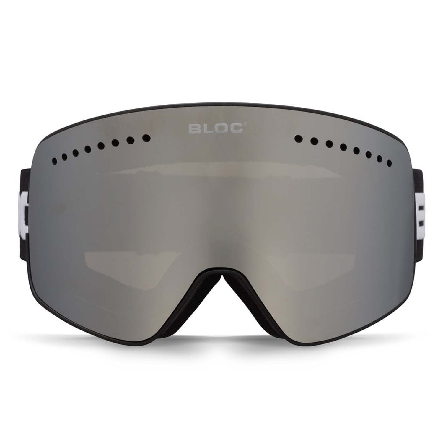 BLOC Fifty-Five G552 Goggle Matt Black/Silver Mirror 2020