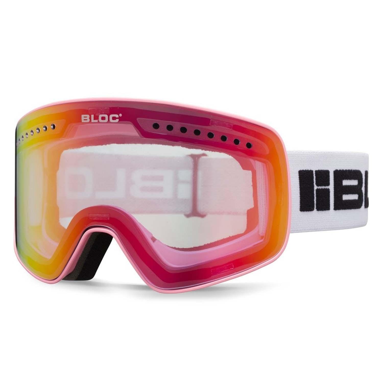 BLOC Fifty-Five G553 Goggle Matt Powder/Purple Silver Mirror 2020
