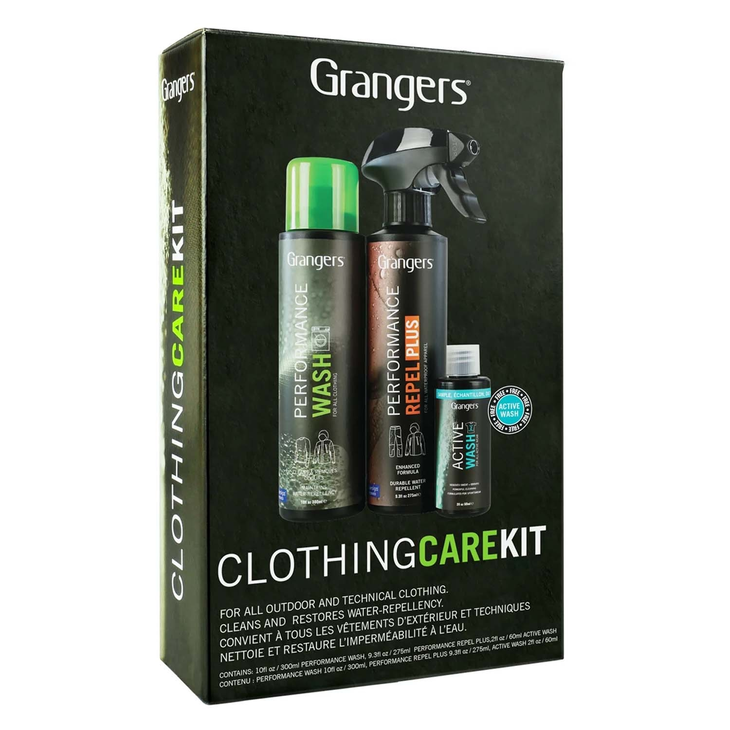 Grangers Clothing Care Clean Proof Kit