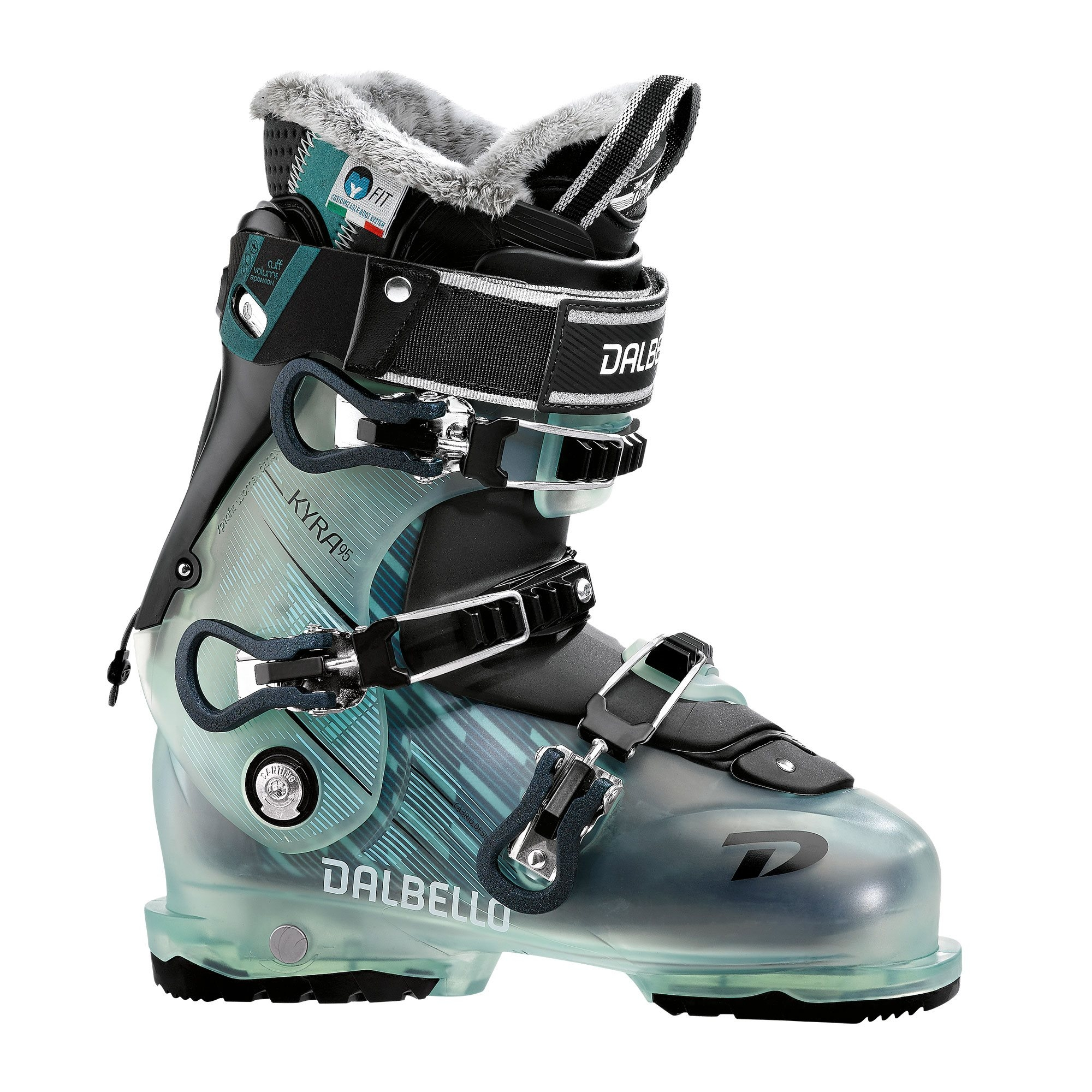 46c075452b1 Dalbello Kyra 95 Ski Boot Glacier Blue Black 2018