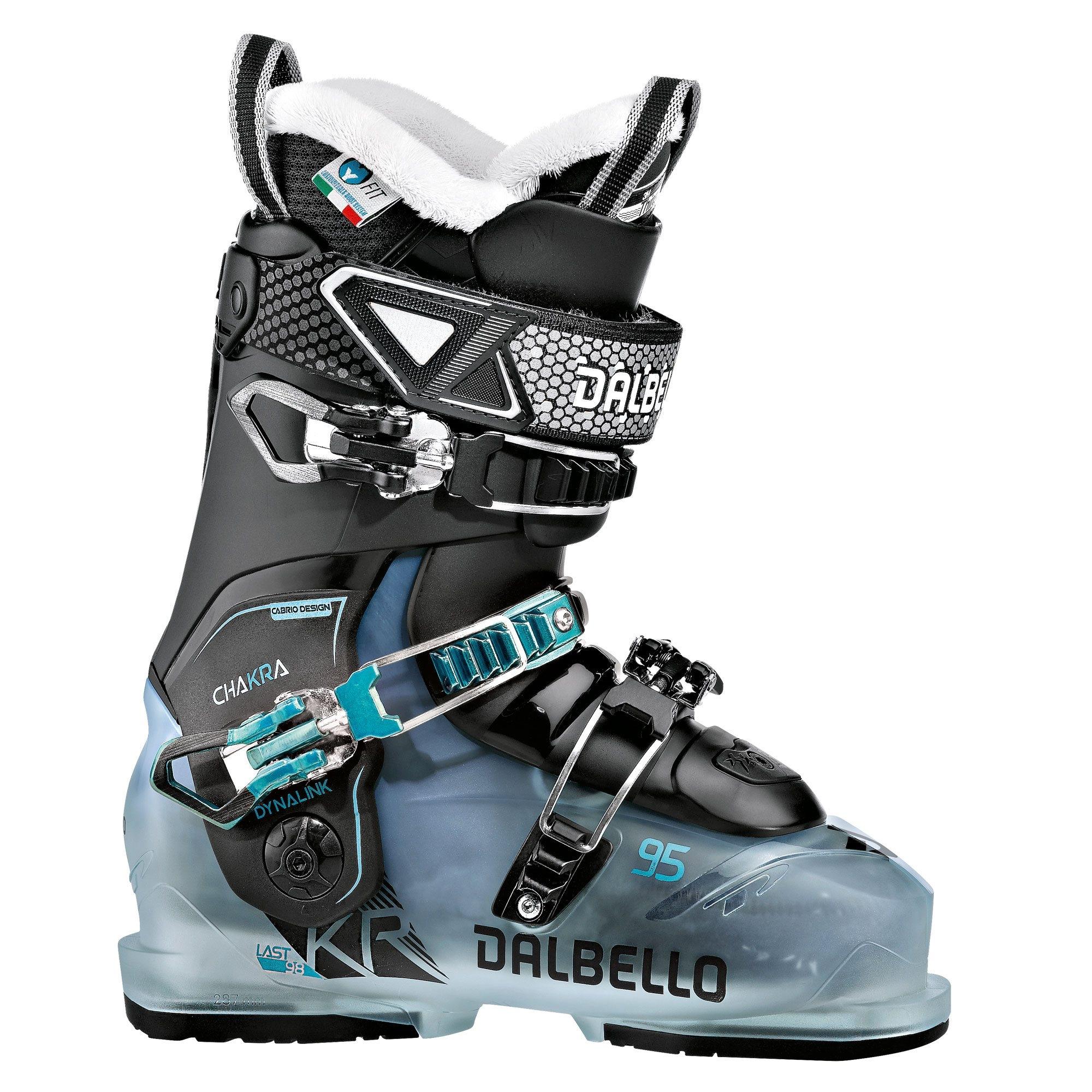 Dalbello Chakra 95 Ski Boot Dazz Blue/Black 2018