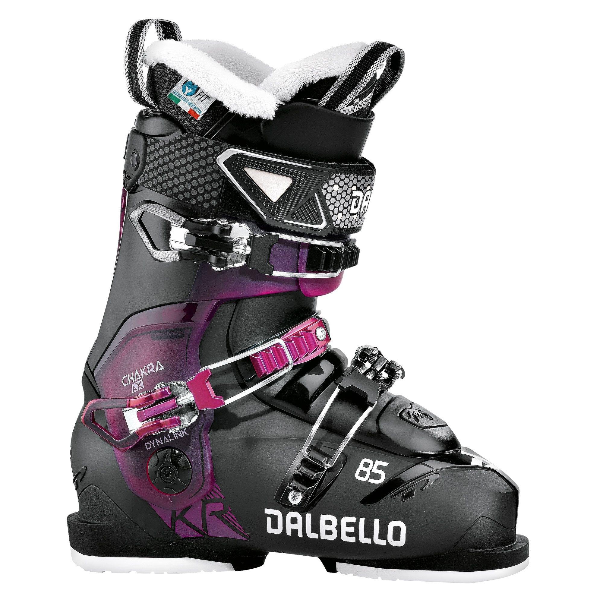 Dalbello Chakra AX 85 Ski Boot Black/Fuchsia 2018