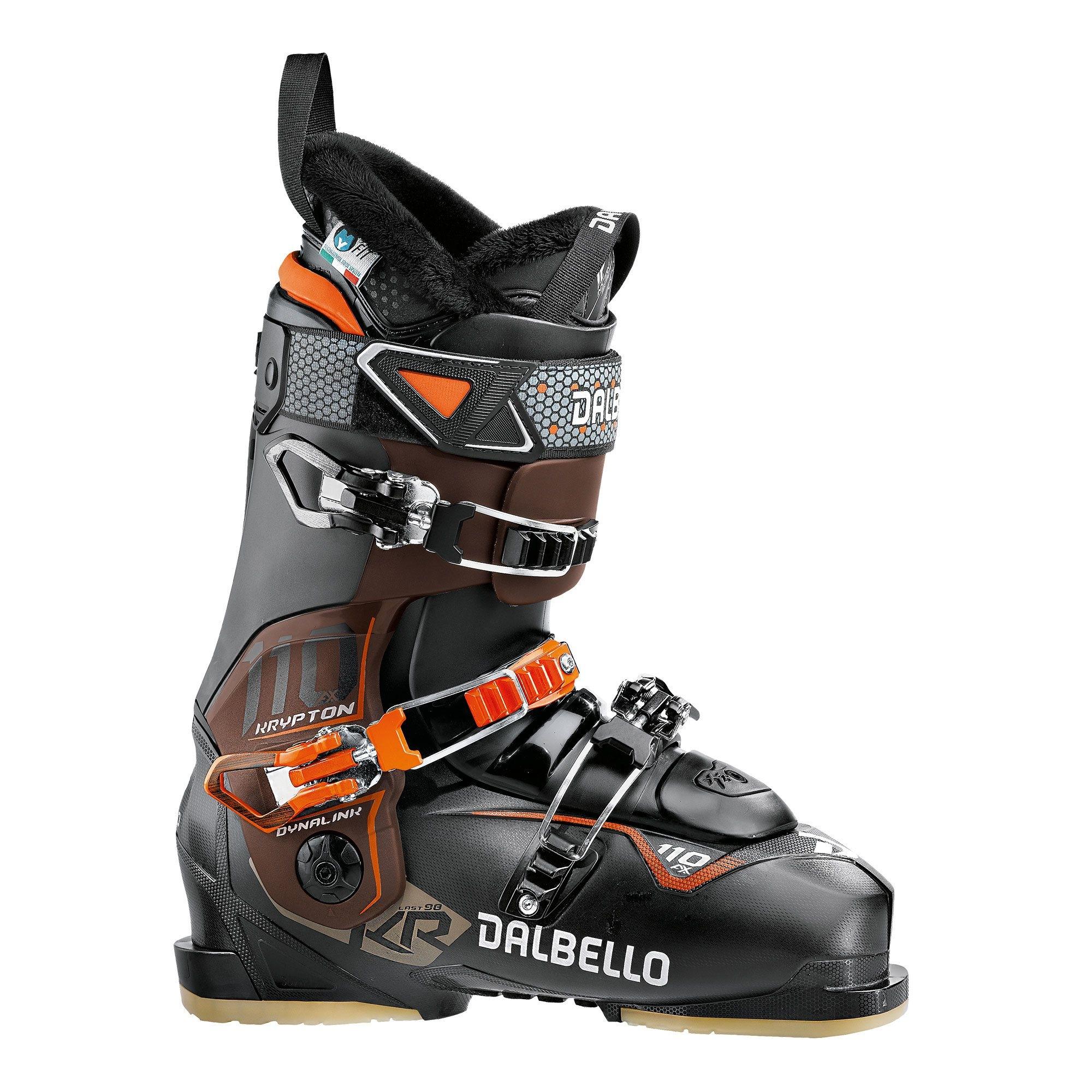 Dalbello Krypton AX 110 Ski Boot Black Bronze/Black 2018