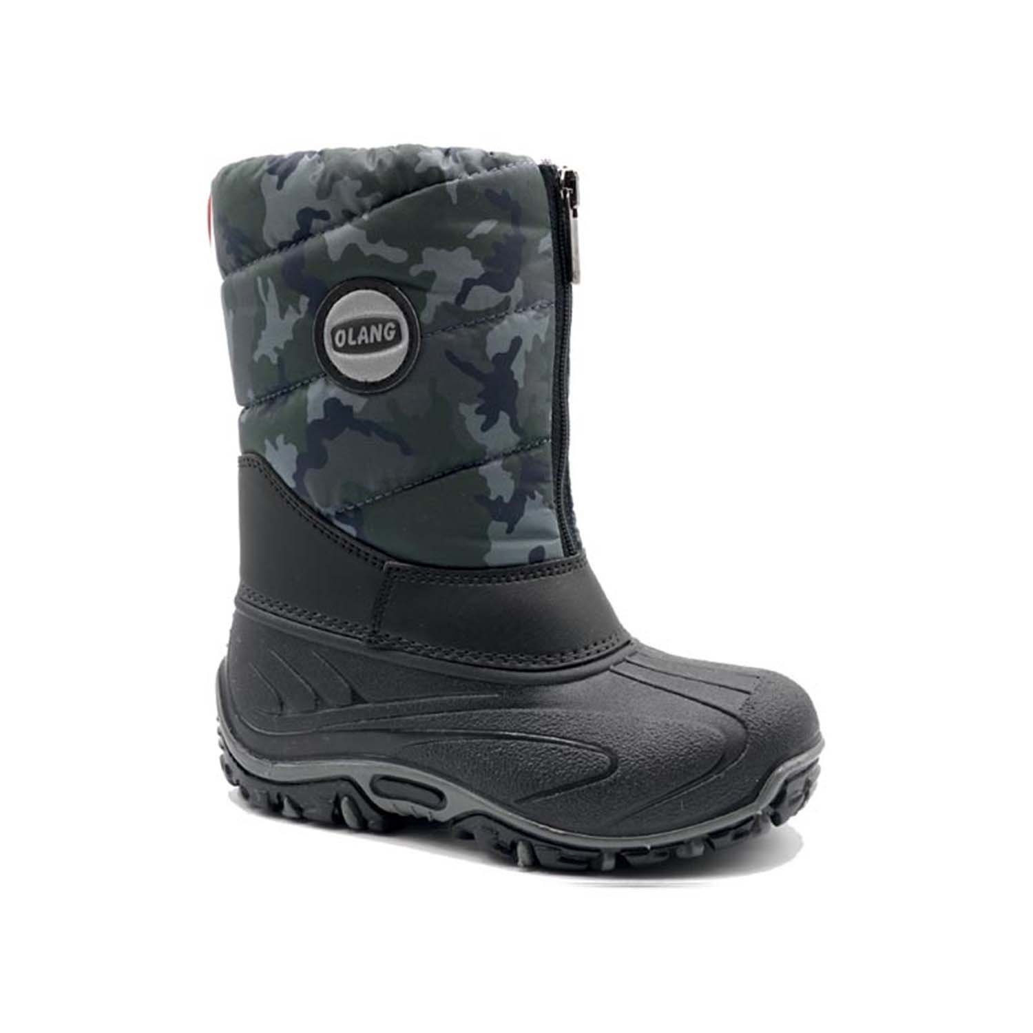 Olang BMX Snow Boot Blue Camouflage 2020