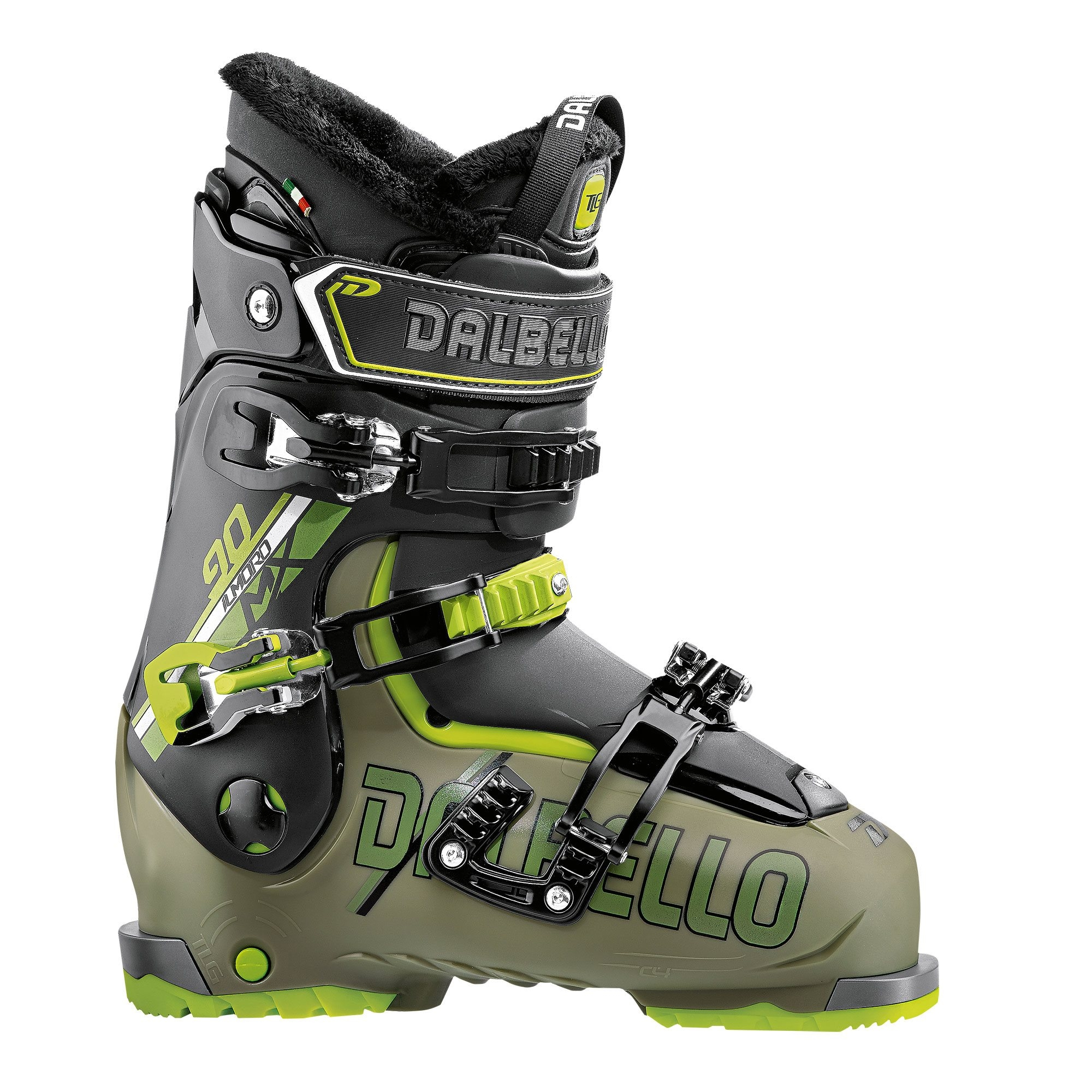 Dalbello IL Moro MX 90 Ski Boot Military Gree/Black 2018