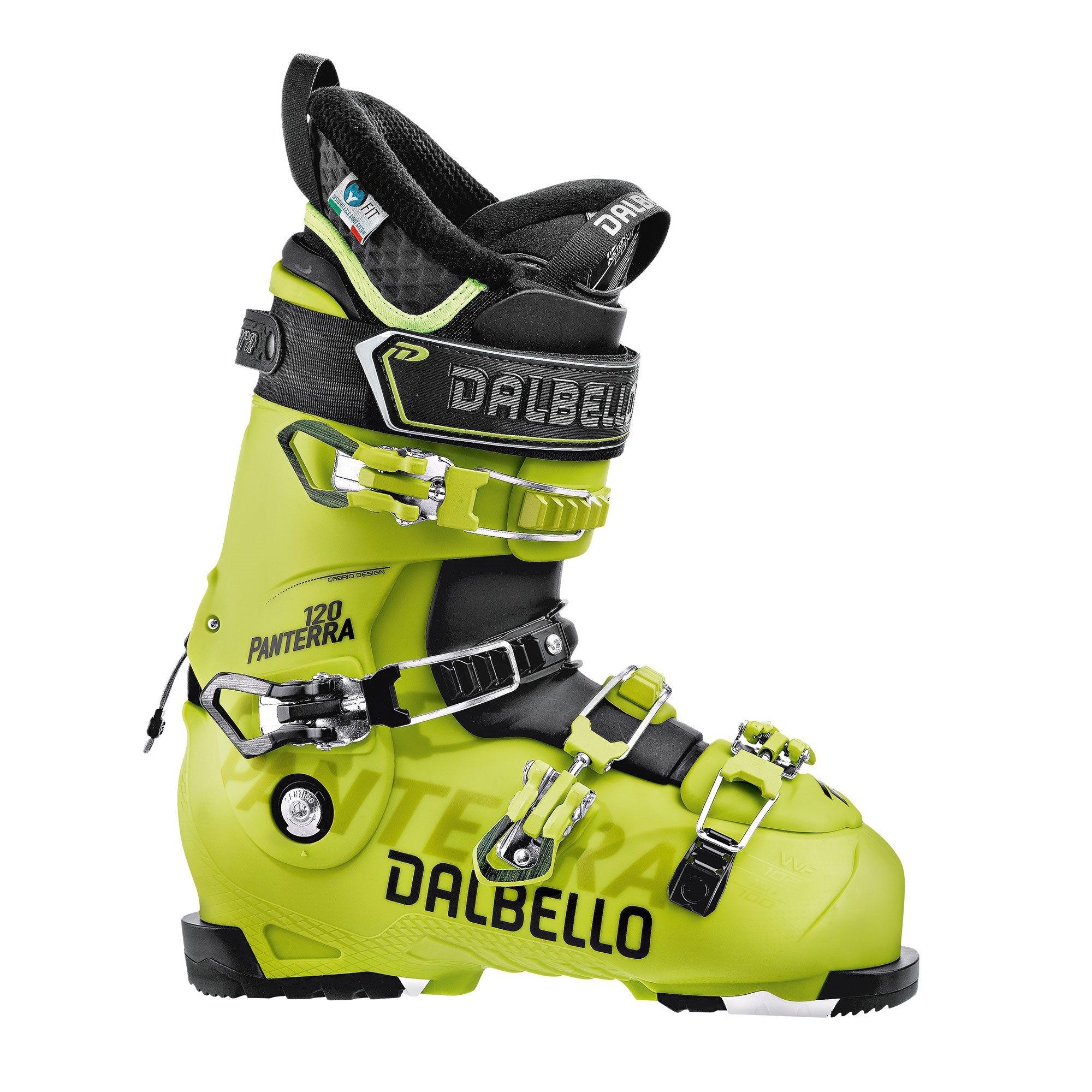 Dalbello Panterra 120 Ski Boot Acid Yellow/Black 2018