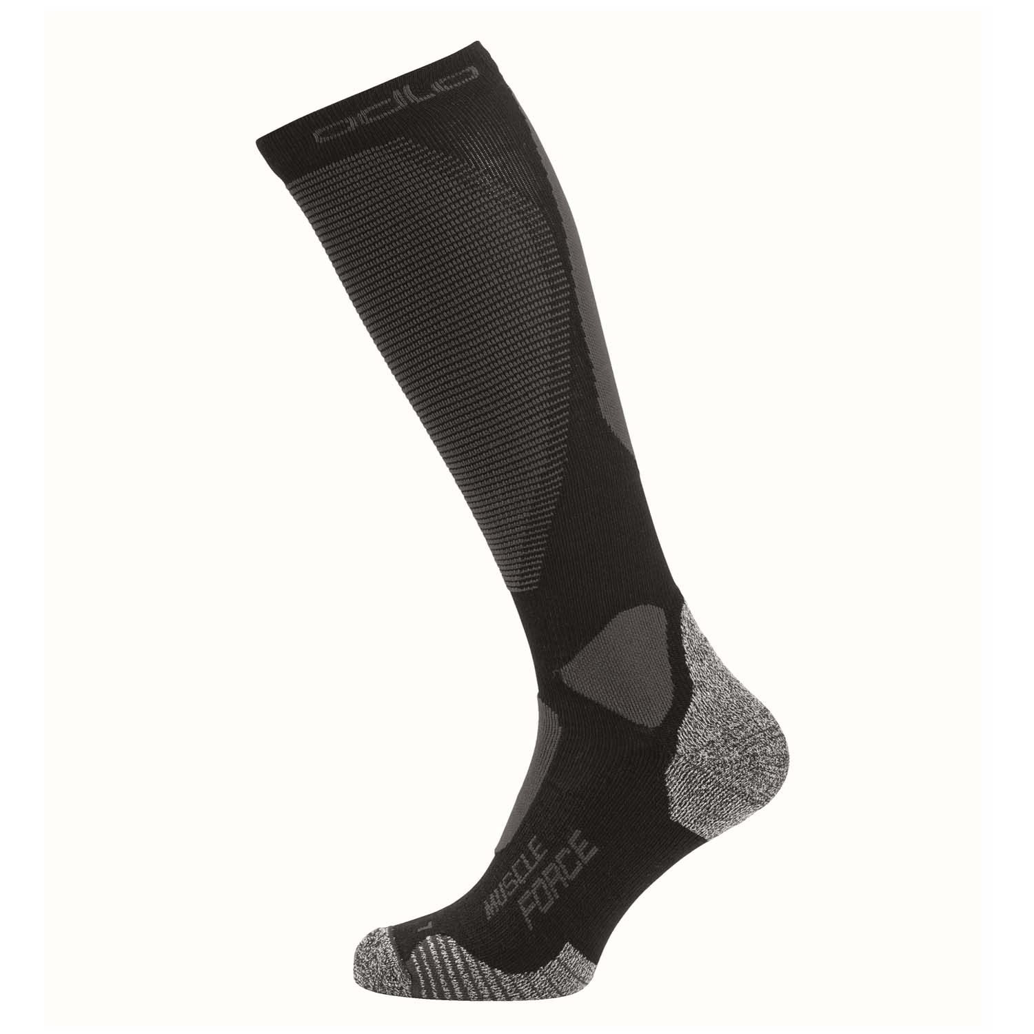 Odlo Muscle Force Ceramiwarm Light Pro Socks Black/Odlo Graphite Grey 2020