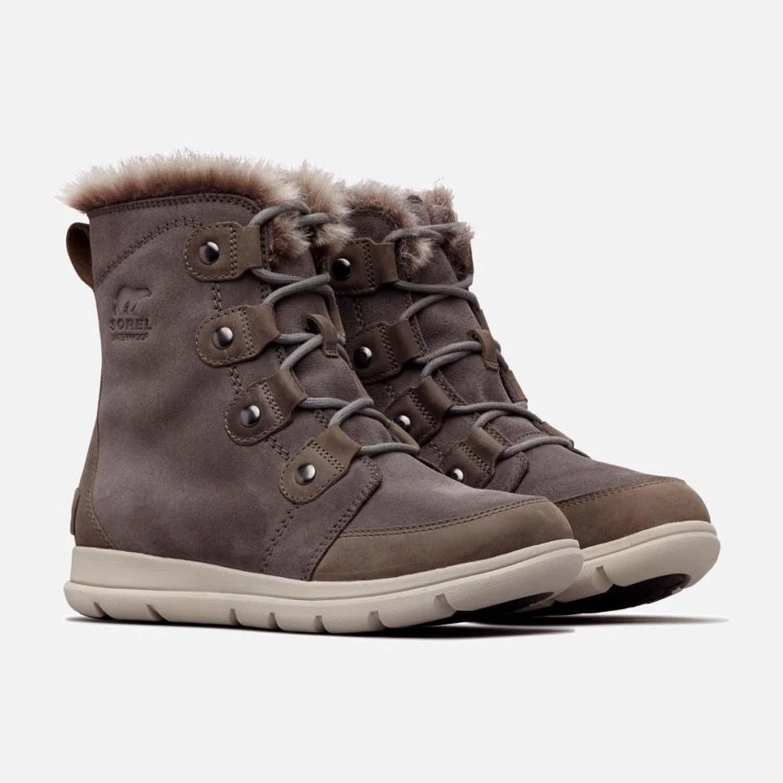 Sorel Explorer Joan Boot Quarry Black 2020 Sorel Boots